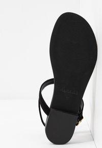 Pretty Ballerinas - ANGELIS - T-bar sandals - black - 6