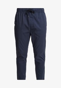 Solid - TRUC CROPPED - Trousers - dark blue - 4