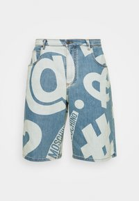 MOSCHINO - TROUSERS - Denim shorts - fantasy blue - 8