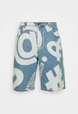 TROUSERS - Denim shorts - fantasy blue