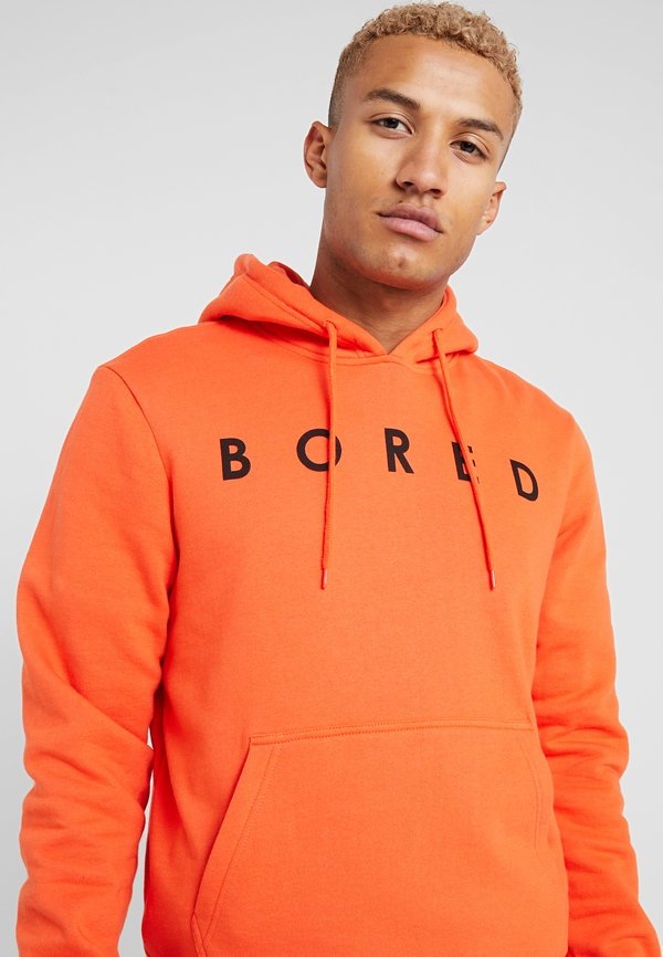 YOURTURN Bluza z kapturem - orange/pomarańczowy Odzież Męska HGFG
