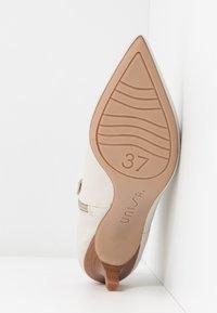 Unisa - JERUSA - Boots à talons - ivory - 6
