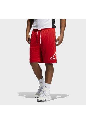 Pantalón corto de deporte - vivid red