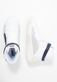 Puma - SKY MODERN - Basketball shoes - white/peacot
