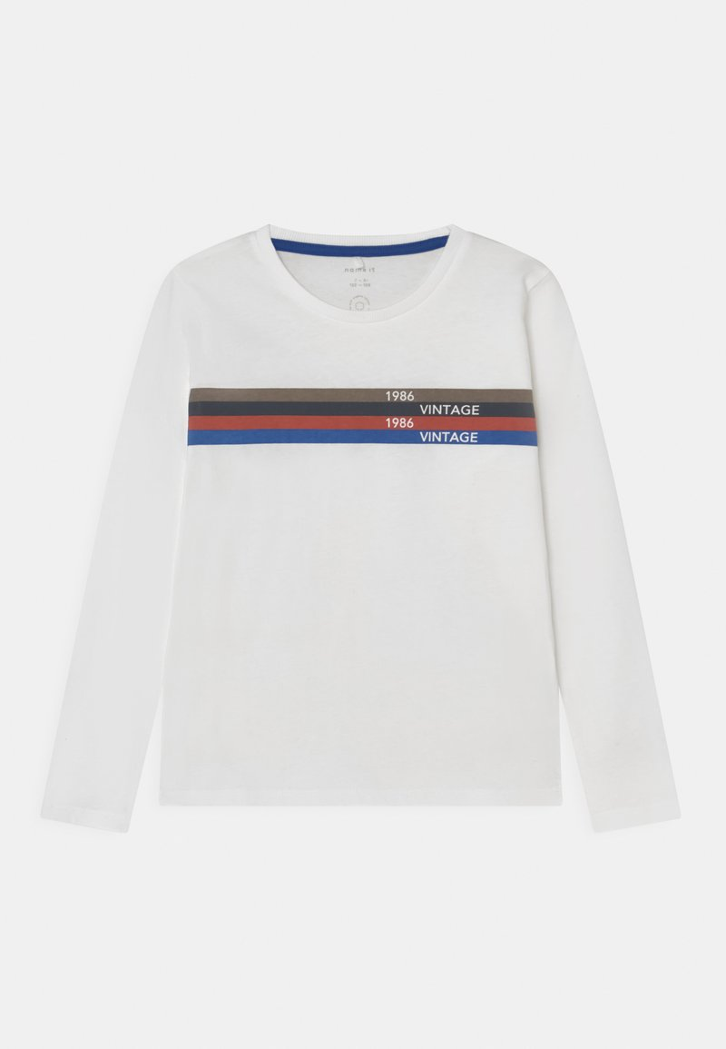 Name it - NKMLACKTO - Long sleeved top - bright white