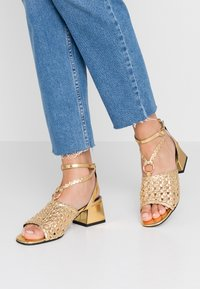 River Island - Sandals - gold - 0