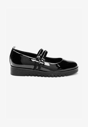 2 STRAP  - Zapatos de salón con cordones - black
