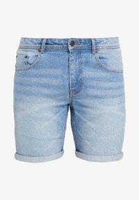 Denim Project - MR. ORANGE - Jeansshorts - heavy worn indigo - 3
