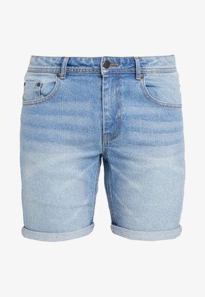 MR ORANGE - Short en jean - heavy worn indigo