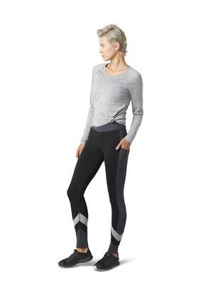 SPORT COLORBLOCK - Leggings - Trousers - black