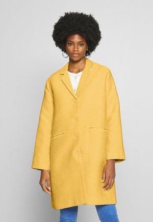 TURA - Classic coat - cream gold