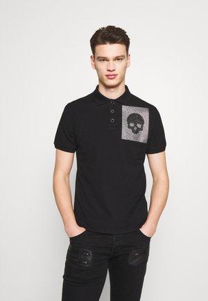 SPARKLY SKULL - Polo shirt - black