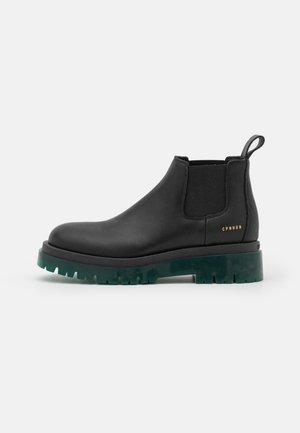 CPH1001  - Platform ankle boots - blackgreen