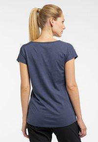 Haglöfs - FUNKTIONSSHIRT CAMP TEE - Basic T-shirt - dense blue - 1