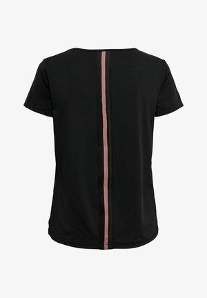 ONPBAKO TRAINING TEE - T-shirt print - black