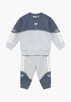 OUTLINE CREW SET - Trainingspak - grey/white
