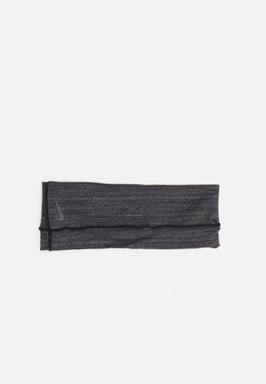 YOGA HEADBAND UNISEX - Panta/korvaläpät - black/anthracite/smoke grey