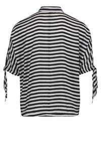 Betty Barclay - MIT STREIFEN - Button-down blouse - weiß/schwarz - 4