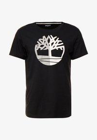 Timberland - TREE LOGO TEE - T-shirt print - black - 5