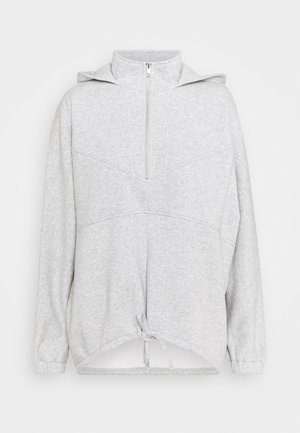 PCRIO - Zip-up hoodie - light grey melange
