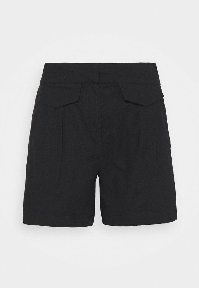 SLFCECILIE PETITE - Shorts - black