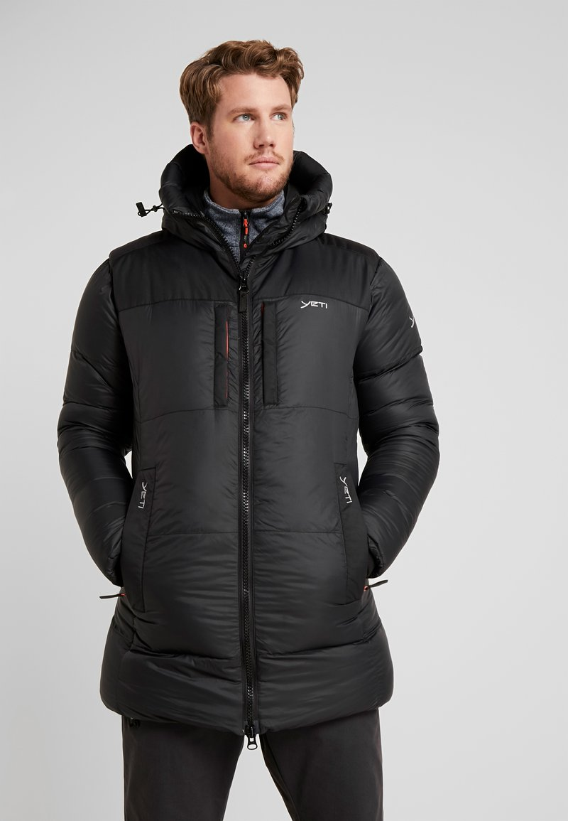 YETI - SKANSHOLM OVERSIZE - Down coat - black