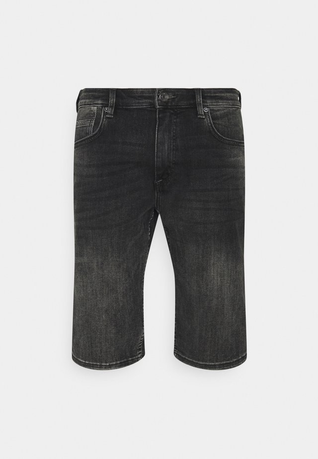 BERMUDA - Shorts di jeans - grey stret