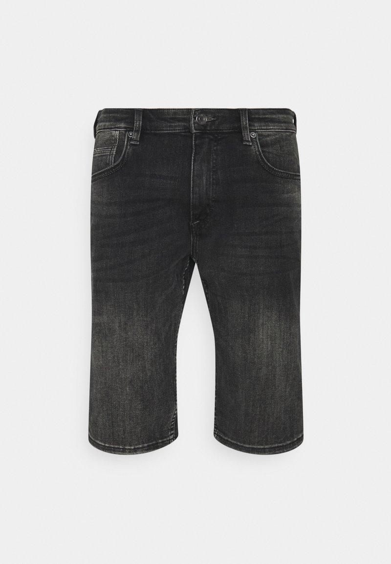 s.Oliver - BERMUDA - Jeans Shorts - grey stret