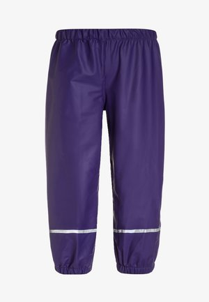 PATIENCE - Pantalones impermeables - dark purple