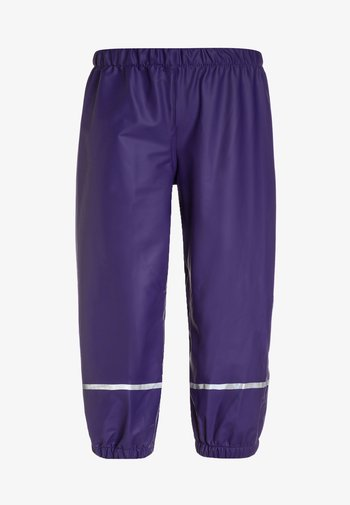 PATIENCE - Rain trousers - dark purple