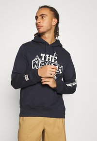 The North Face - HIMALAYAN BOTTLE SOURCE HOODIE - Mikina skapucí - aviator navy - 0