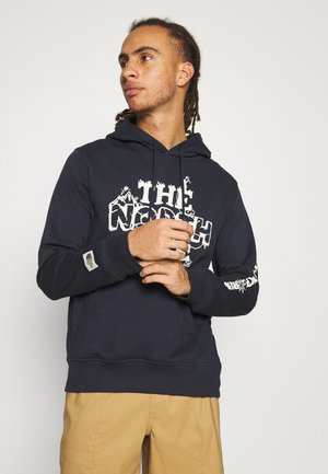HIMALAYAN BOTTLE SOURCE HOODIE - Luvtröja - aviator navy