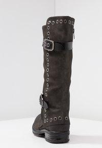 Coolway - GISELE - Cowboy/Biker boots - grey - 5
