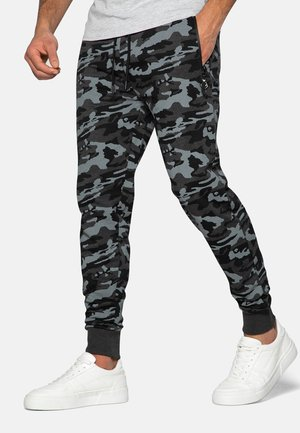 Tracksuit bottoms - charcoal camo