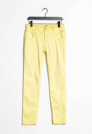 Jeansy Slim Fit - yellow
