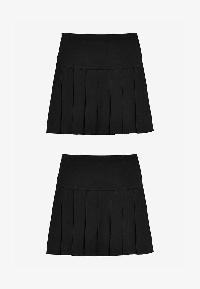 2 PACK - A-linjekjol - black