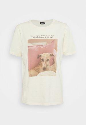 IDA TEE - Print T-shirt - cloud