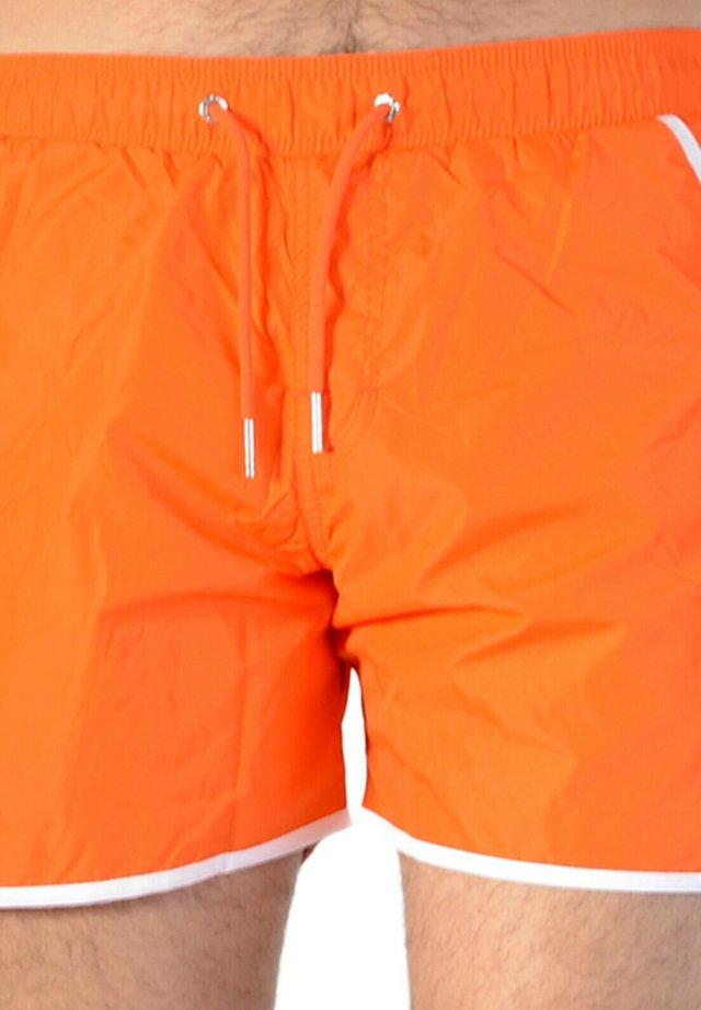Short de bain - orange