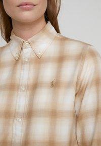 Polo Ralph Lauren - GEORGIA CLASSIC - Camisa - cream/sand - 5