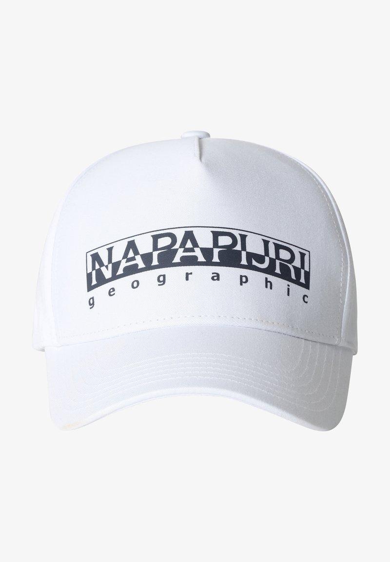 Napapijri - FRAMING - Cap - white