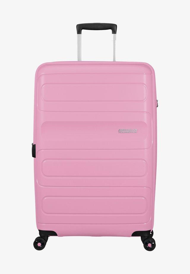 SUNSIDE - Wheeled suitcase - pink gelato