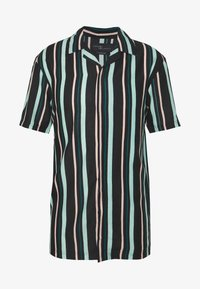 Common Kollectiv - UNISEX STRIPED SHORT SLEEVE BOWL - Shirt - black - 4
