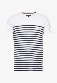 Tommy Hilfiger - BRETON TEE - Print T-shirt - white - 3