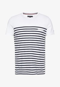 BRETON TEE - Print T-shirt - white