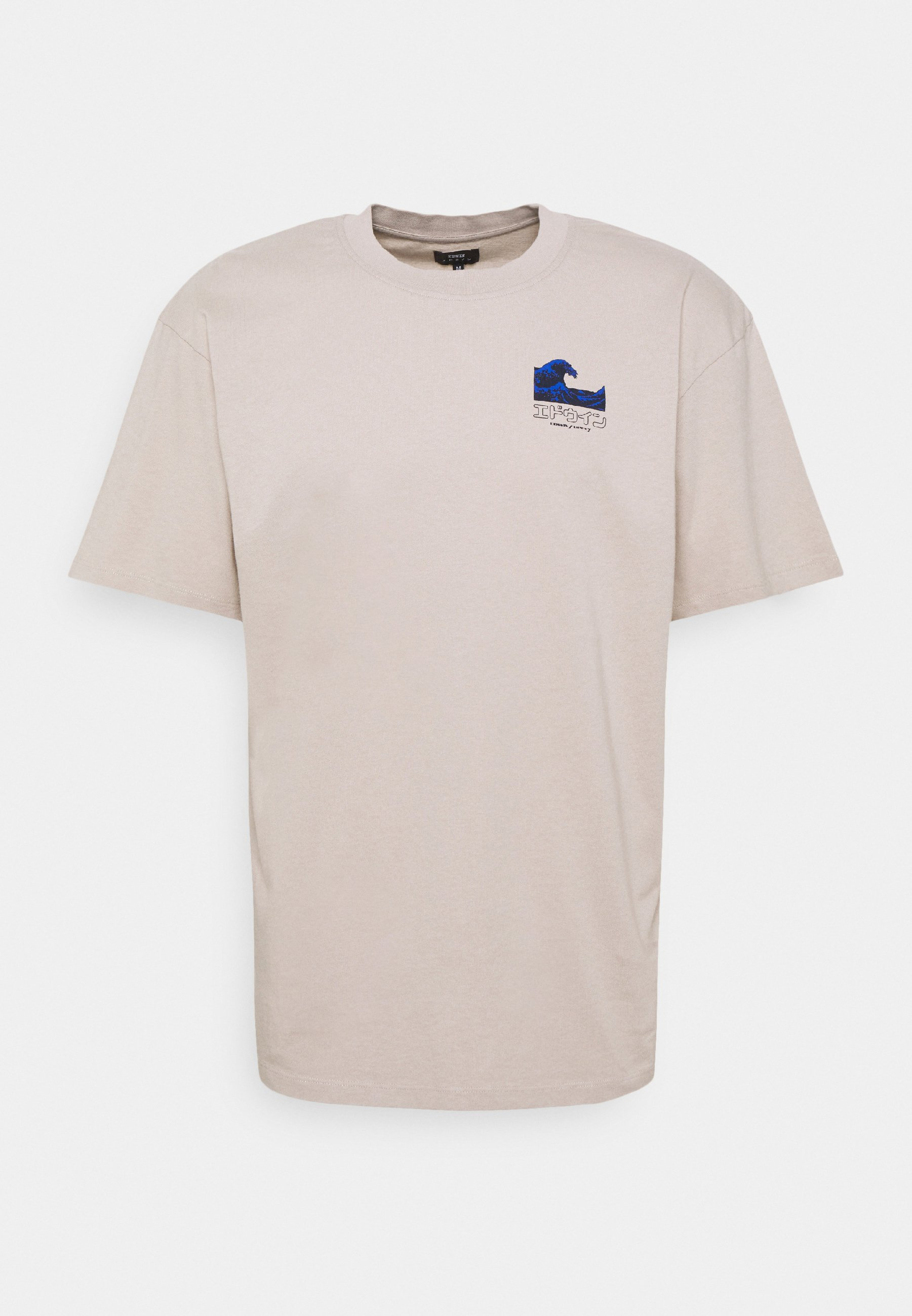 Men THE WAVE II UNISEX - Print T-shirt - silver cloud