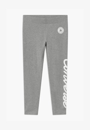 SIGNATURE CHUCK - Leggings - grey heather