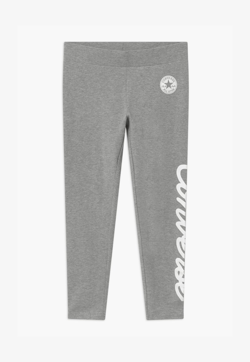 Converse - SIGNATURE CHUCK - Legging - grey heather