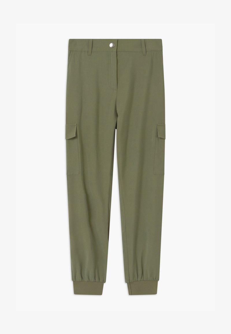 Lindex - TEENS  ARLENE - Cargo trousers - khaki