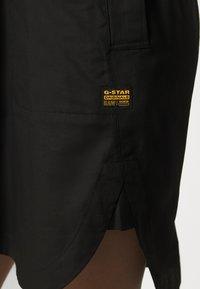 G-Star - MILARY V NECK SHIRT DRESS L\S - Vestido informal - black - 5
