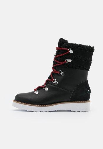BRANDI - Vinterstøvler - black